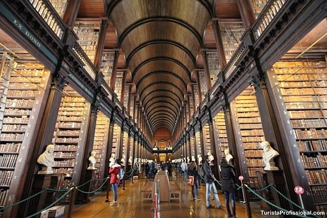 Trinitty College em Dublin