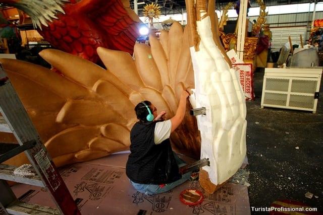 o que fazer em New Orleans - Mardi Gras World - O mundo do Carnaval de New Orleans
