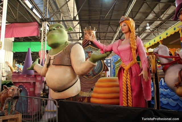 o que ver em New Orleans - Mardi Gras World - O mundo do Carnaval de New Orleans