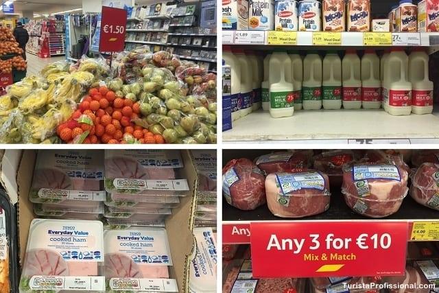 supermercado em dublin - Compras de supermercado em Dublin