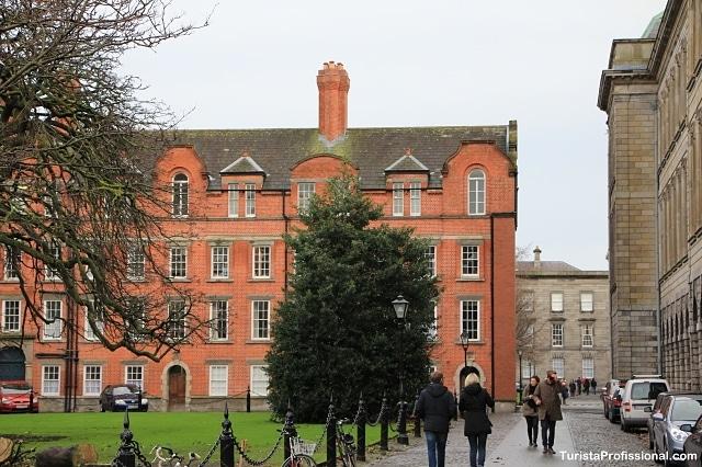 trinity college - Trinity College, a universidade mais antiga da Irlanda