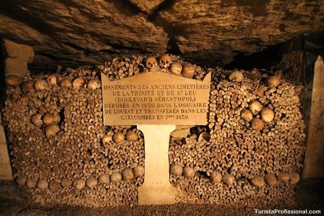 como chegar - Catacumbas de Paris, uma visita macabra e fascinante