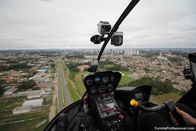 curitiba dicas - Voo de helicóptero em Curitiba: veja a cidade do alto!