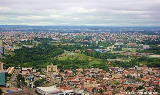 jardim botanico curitiba - Voo de helicóptero em Curitiba: veja a cidade do alto!