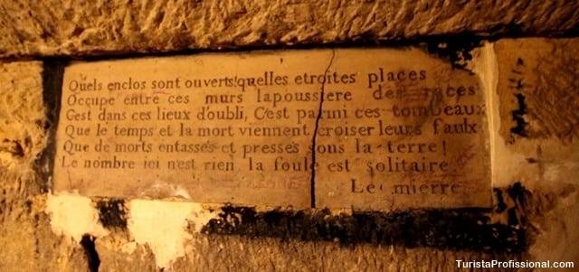 o que ver em paris - Catacumbas de Paris, uma visita macabra e fascinante