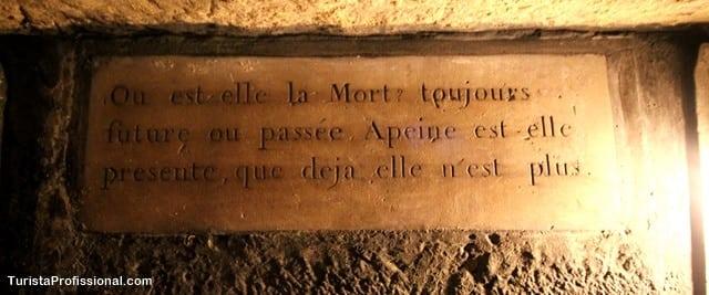 ossuario - Catacumbas de Paris, uma visita macabra e fascinante