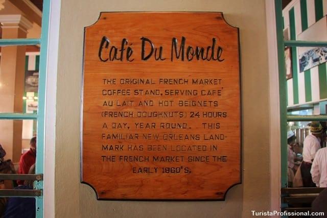 cafe du monde new orleans - 4 restaurantes em New Orleans que você tem que conhecer