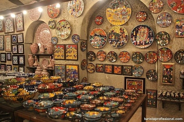 ceramica turca - Roteiro de 2 dias na Capadócia
