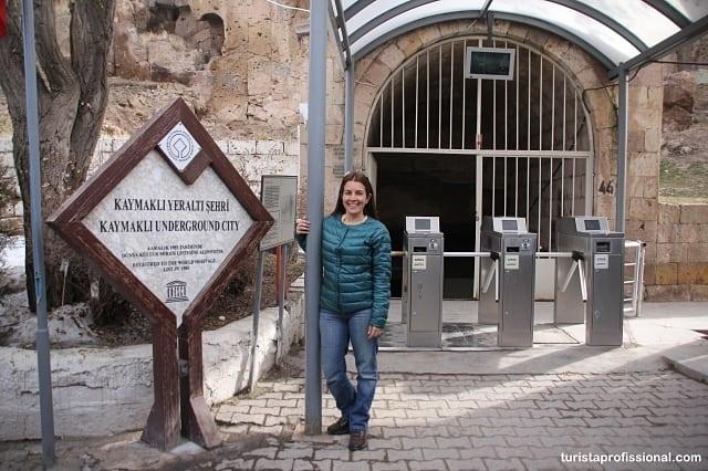 cidade subterranea - Roteiro de 2 dias na Capadócia