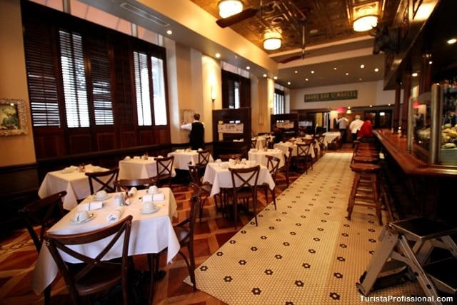 Restaurante em New Orleans