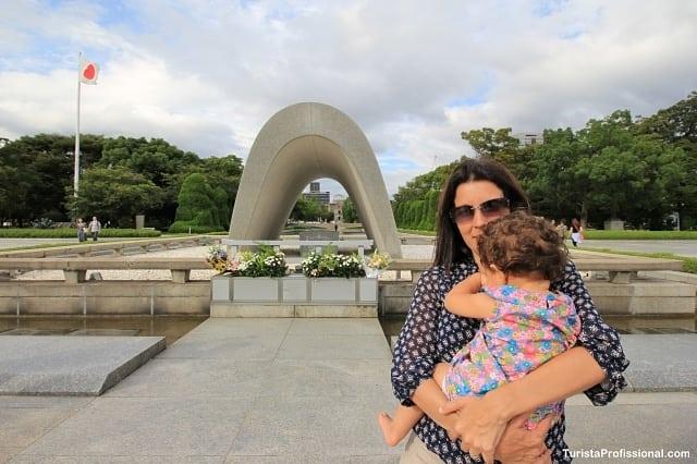 japão com bebê