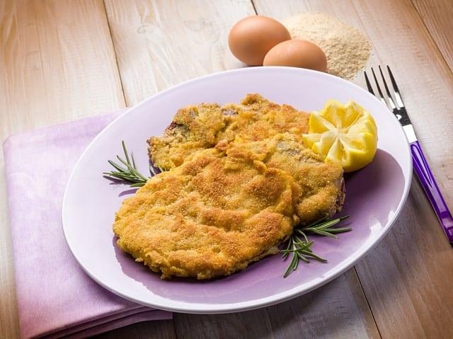 comidas típicas da Itália: bife milanesa