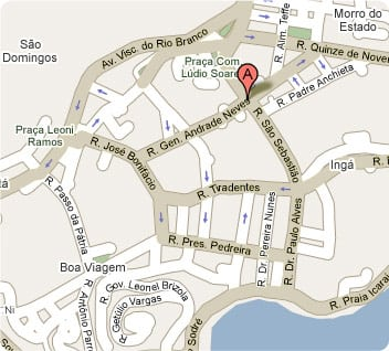 onde se hospedar em Niterói