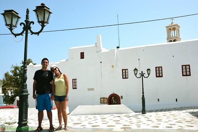 Ano Mera e o Monasterio de Panagia Tourliani - Mykonos: dicas para conhecer a ilha grega das baladas