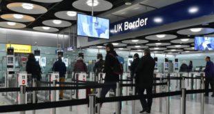 como é a imigração no Reino Unido