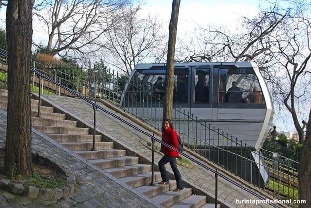 roteiro em Montmartre
