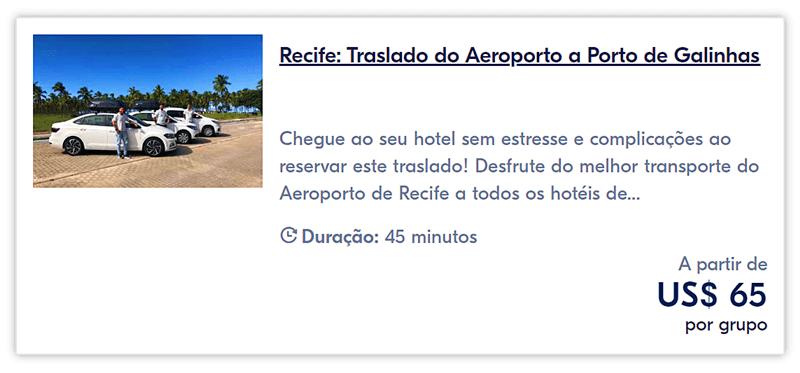 traslado para porto de galinhas - Piscinas naturais de Porto de Galinhas: passeio de jangada no paraíso