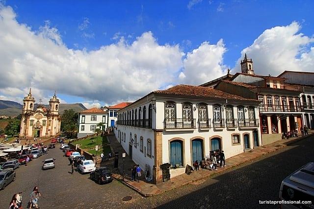 como chegar a Ouro Preto