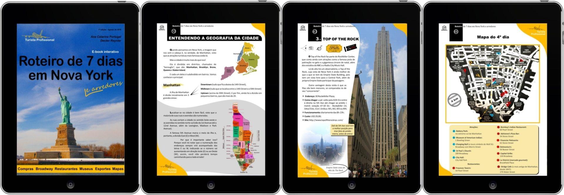 roteiro nova york - Roteiro de 7 dias em Nova York e arredores (E-Book)