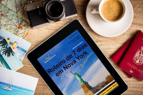 viagem para nova york 1 - Roteiro de 7 dias em Nova York e arredores (E-Book)