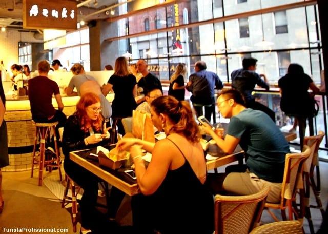 onde comer em new york - Espaço Gourmet em Nova York: City Kitchen