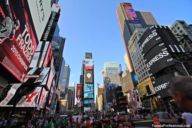 times square nova york - Os novos shows da Broadway