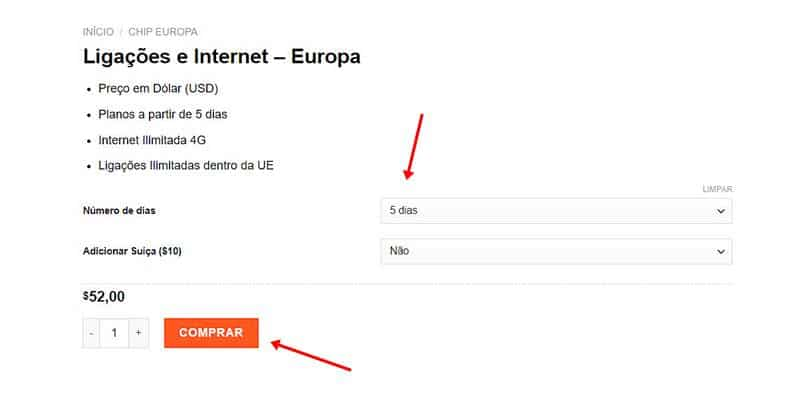 onde comprar chip internacional - Chip Internet Europa
