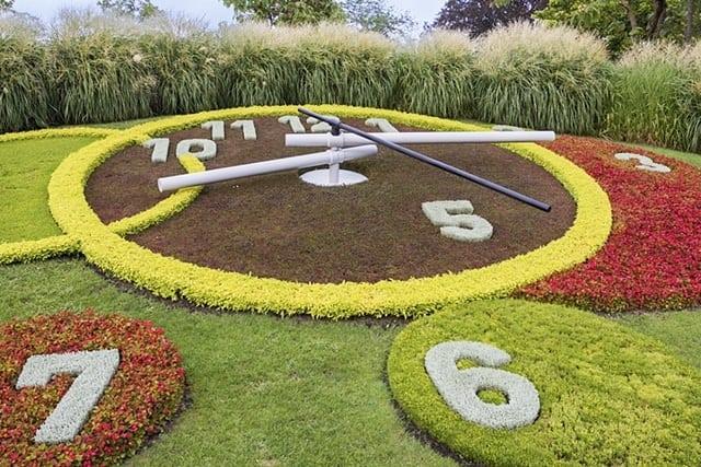 relogio flores - Dicas de Genebra para quem vai a primeira vez