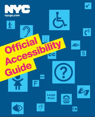 Guia aceesibilidade - Acessibilidade em Nova York: tudo o que você precisa saber