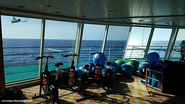 academia no navio - Cruzeiro pelo Caribe: dicas e roteiro