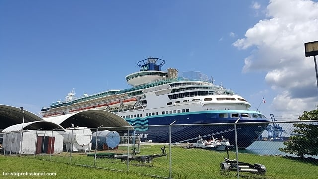 cruzeiro pelo Caribe