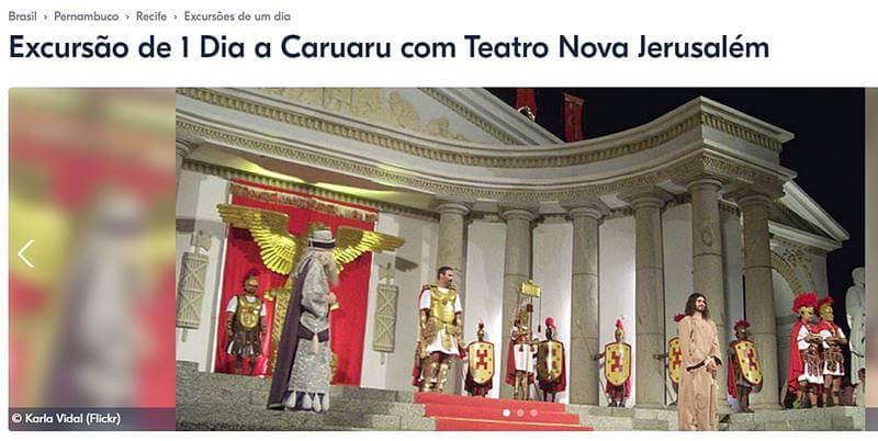 excursao a caruaru - Passeios em Porto de Galinhas: bate e volta