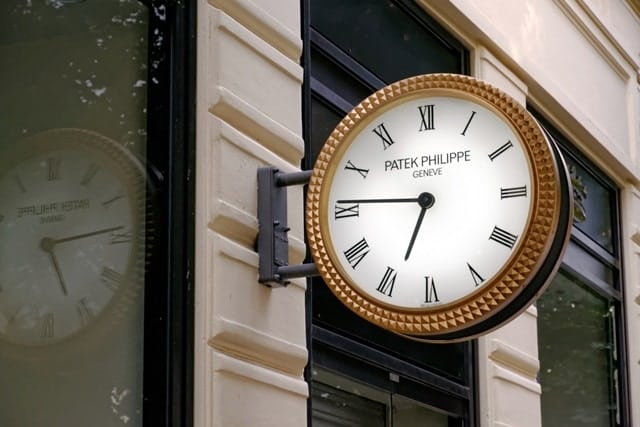 relógio suíco