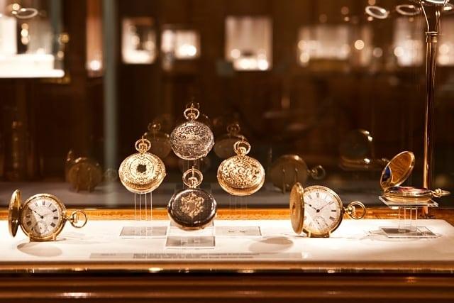 A rota dos relógios em Genebra