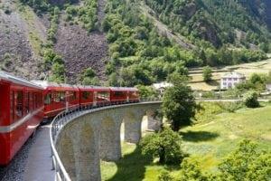 trem pela Europa
