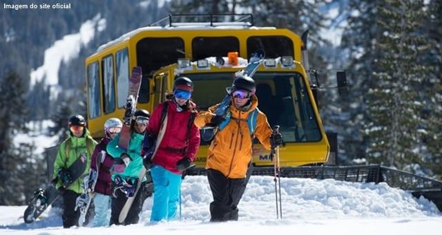 esquiar na california - 10 estações de esqui na Califórnia