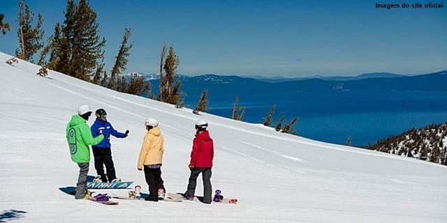 estações de esqui na Califórnia