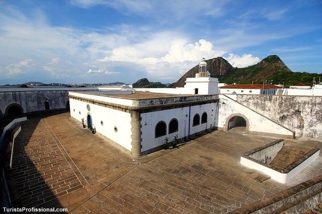 roteiro em Niterói Fortaleza de Santa Cruz