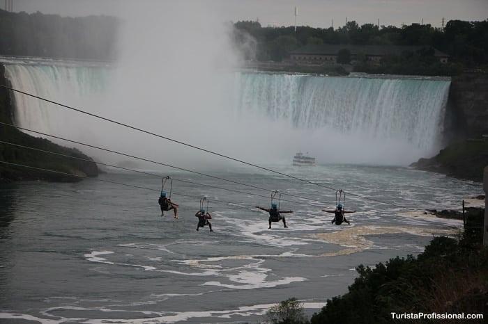 tirolesa em Niagara - 10 dicas de Niagara Falls (lado canadense): tudo o que você precisa saber!