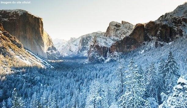 yosemite national park - 10 estações de esqui na Califórnia