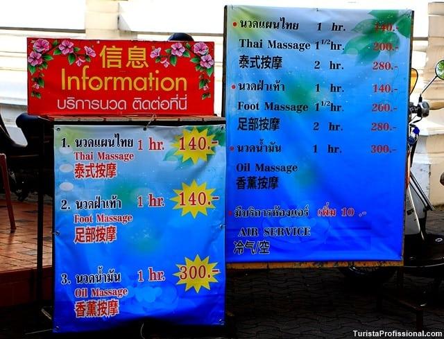 massagem tailandesa - Moeda tailandesa: qual levar, câmbio e outras dicas práticas!