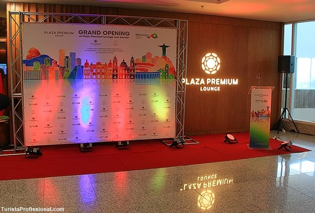 plaza premium lounge - Nova Sala VIP Star Alliance no RIOgaleão