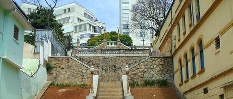 bixiga escadaria do bixiga - Os tradicionais de São Paulo: bairros, lugares, comidas, restaurantes...