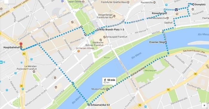 conexao em frankfurt - Conexão em Frankfurt: o que dá para visitar?