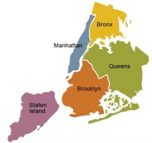 mapa de nova york 300x282 - Onde ficar em Nova York: os piores e os melhores bairros