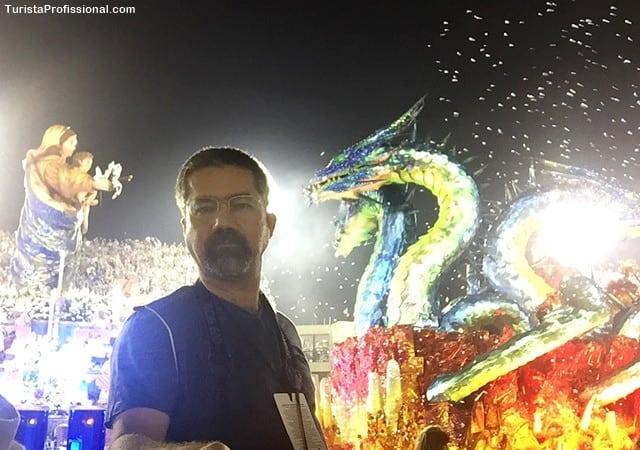 turista profissional 1 - Minha primeira vez no Desfile das Escolas de Samba do Rio