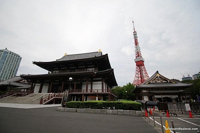 tokyo tower - Roteiro de 12 dias pelo Japão