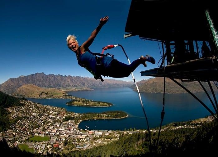 esportes radicais na nova zelândia