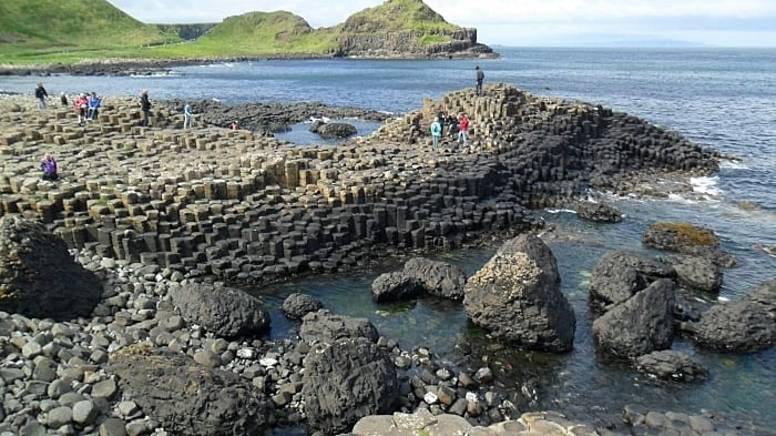 calcada dos Gigantes - Dicas de intercâmbio na Irlanda, na linda Galway
