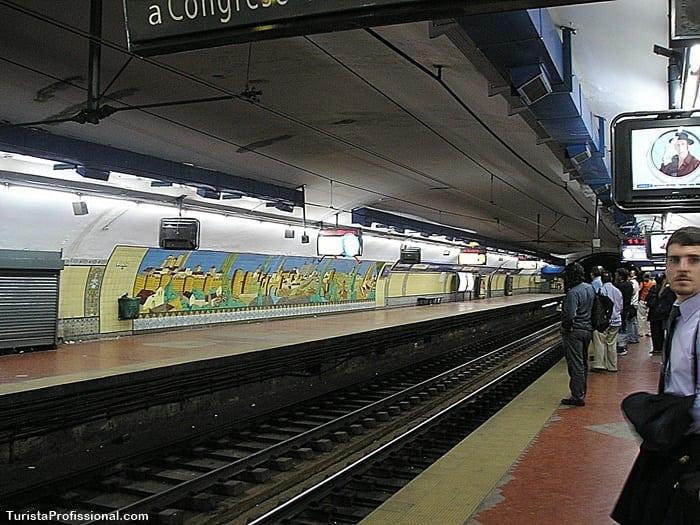 como usar metrô em buenos aires